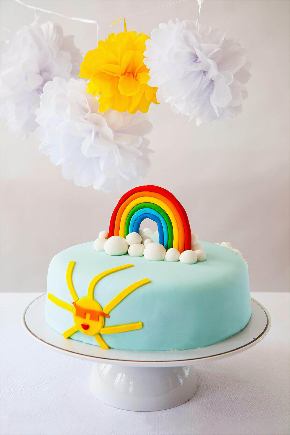 rainbow diy cake kit