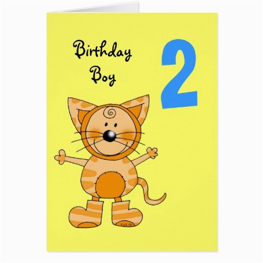 Birthday Card 2 Year Old Boy Zazzle