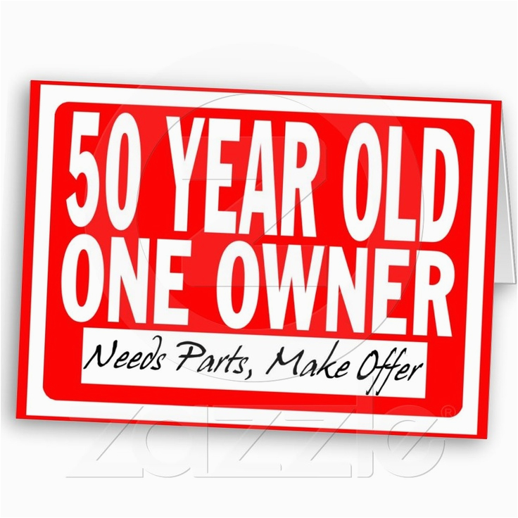 Birthday Card 50 Years Old Year From Zazzle Com Cards