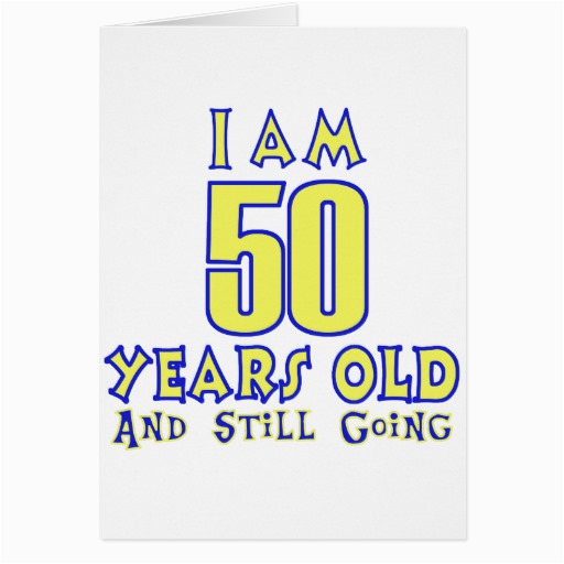 Birthday Card 50 Years Old Birthdaybuzz