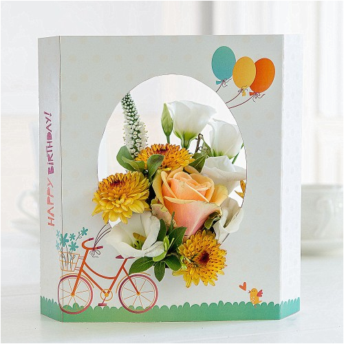 Birthday Card And Flowers Delivery Gifts Free Uk Flying