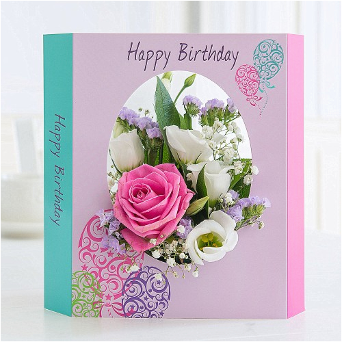 Birthday Card And Flowers Delivery Cheap Under 25 Free Included Flying