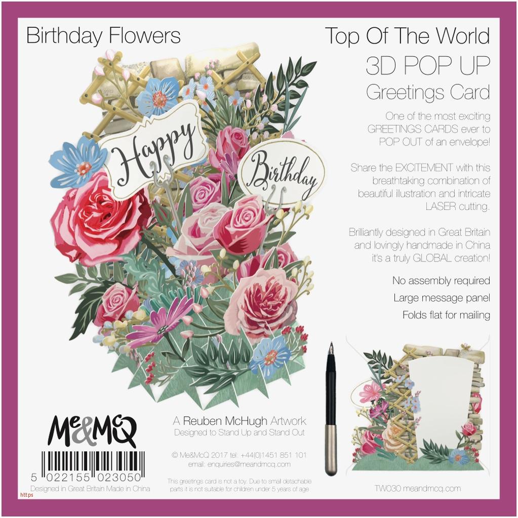 fresh flower birthday cards
