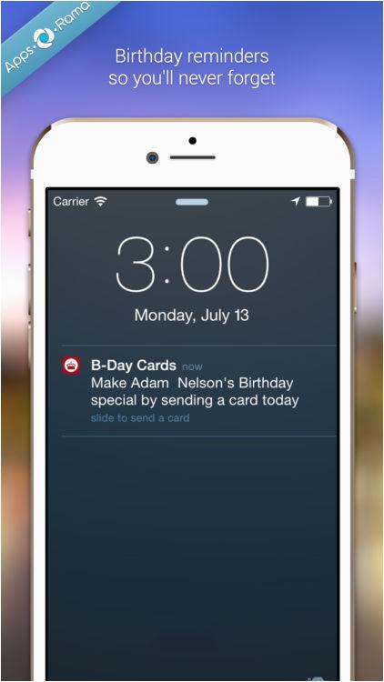 Birthday Card App For Facebook