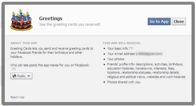 Birthday Card App For Facebook How To Remove Annoying Apps Like The