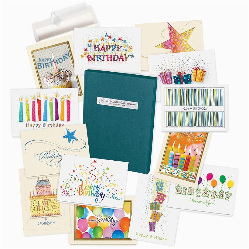 birthday card assortment box