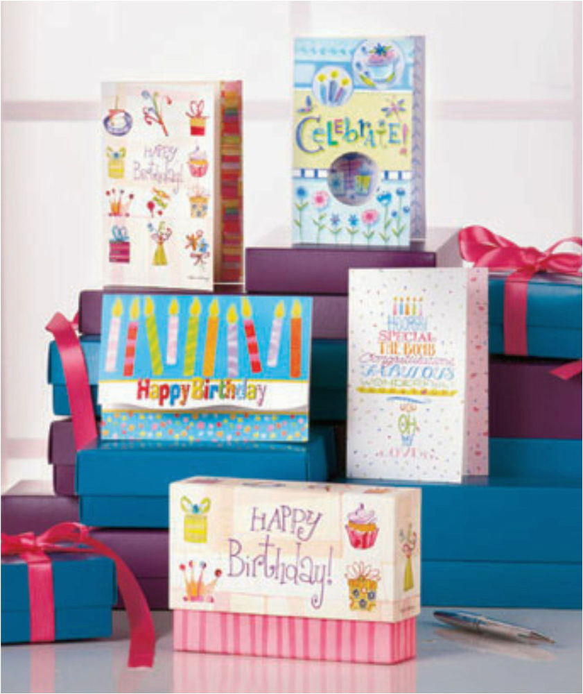 48 pc 12 designs boxed birthday greeting cards set 5 5 quot x 4