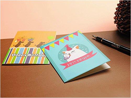 birthday card box set of 40 unique designs assorted