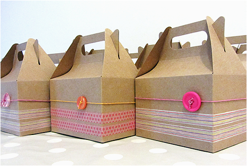 birthday party box diy tutorial la creature and you
