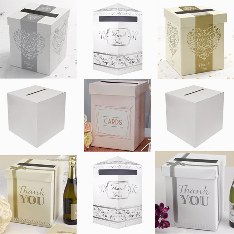 wedding card post box receiving box anniversary or
