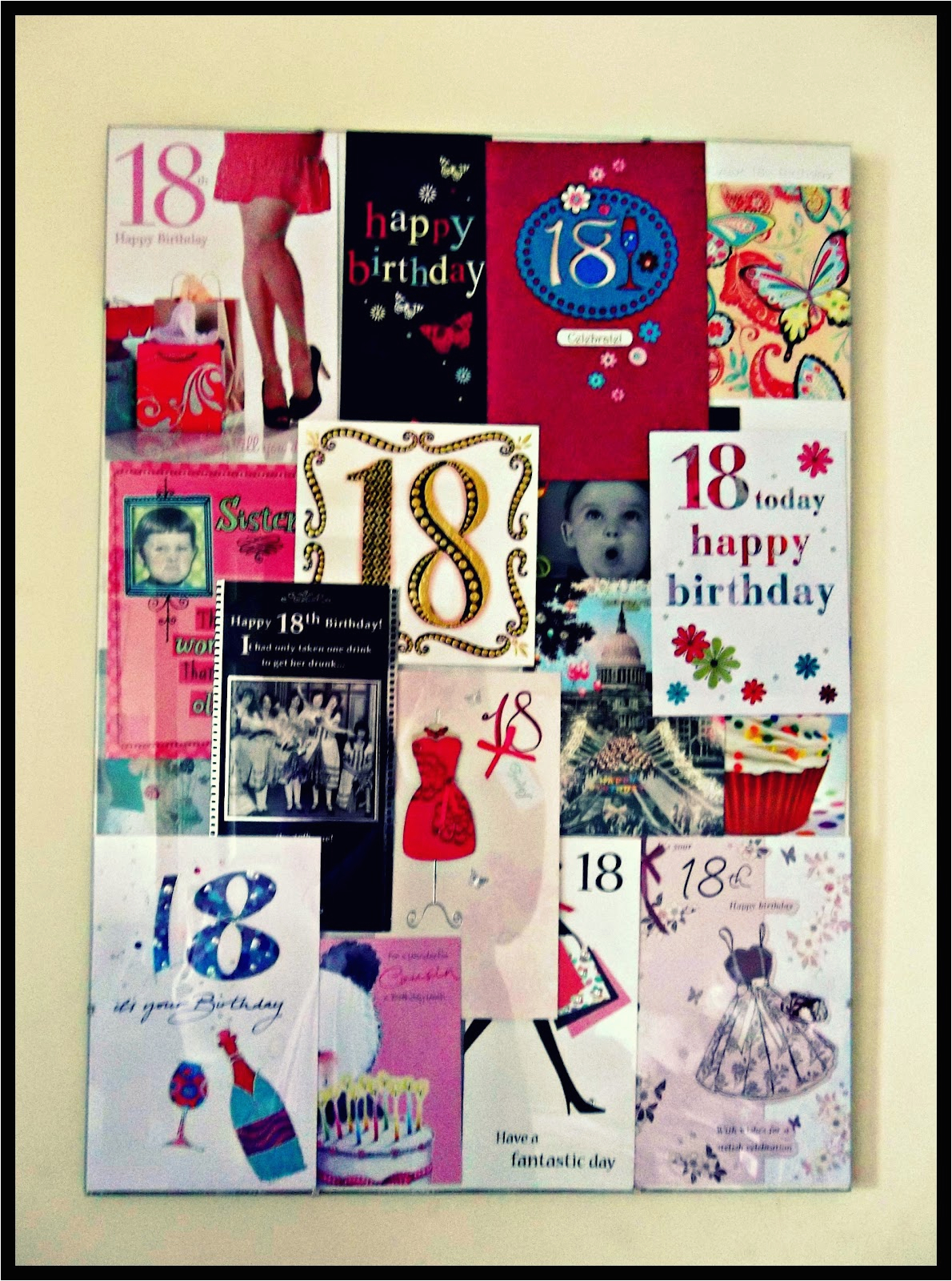 Birthday Card Collage Maker Diy Beth Mac Designs
