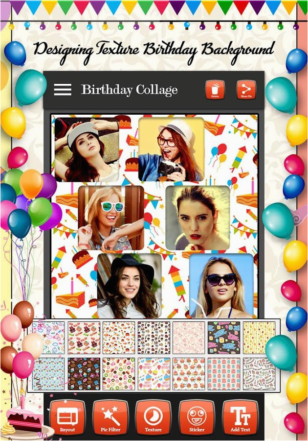 Birthday Card Collage Maker   BirthdayBuzz