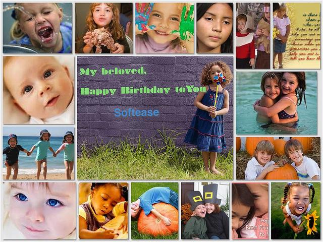 Birthday Card Collage Maker 6776716828