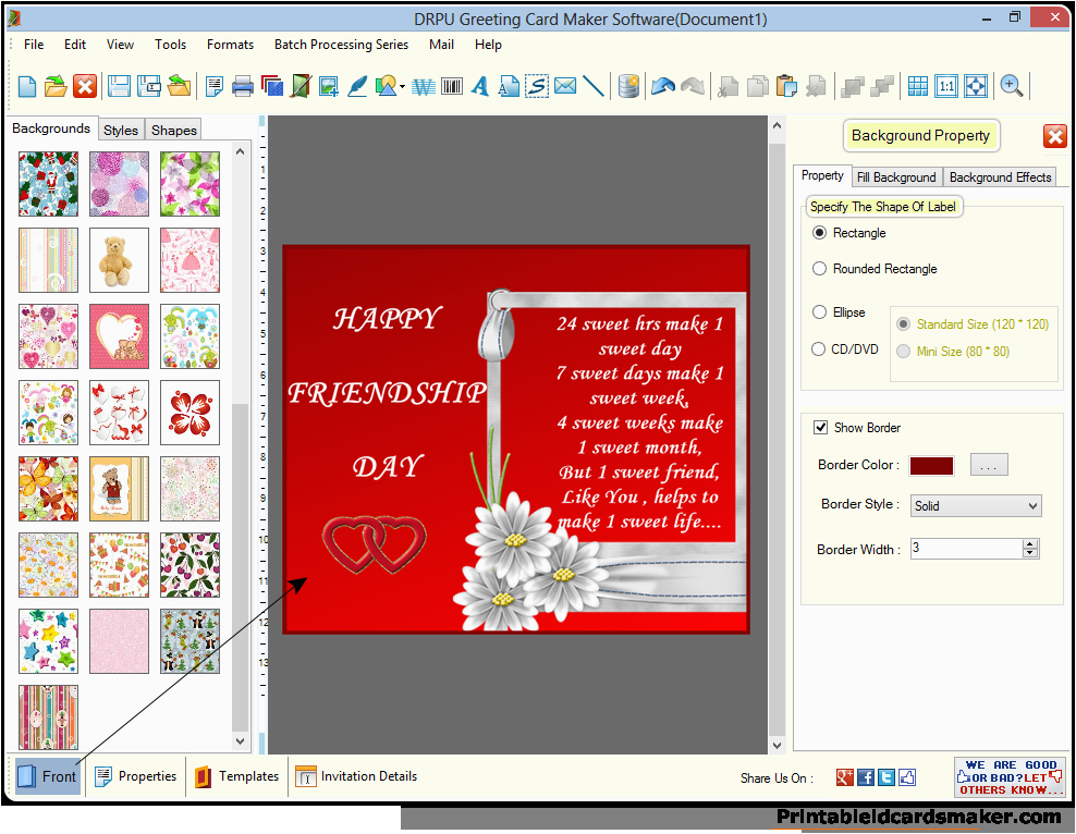 Birthday Card Creator Printable Free Greeting Cards Maker Software Make New Year