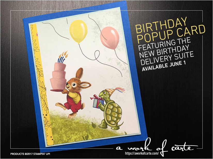 Birthday Card Delivery Service Surprise It 39 S A Birthday Popup Card A Work Of Carte