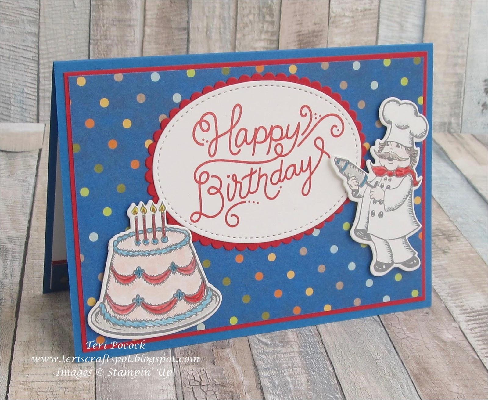 Birthday Card Delivery Uk Stampin 39 Up Demonstrator Teri Pocock