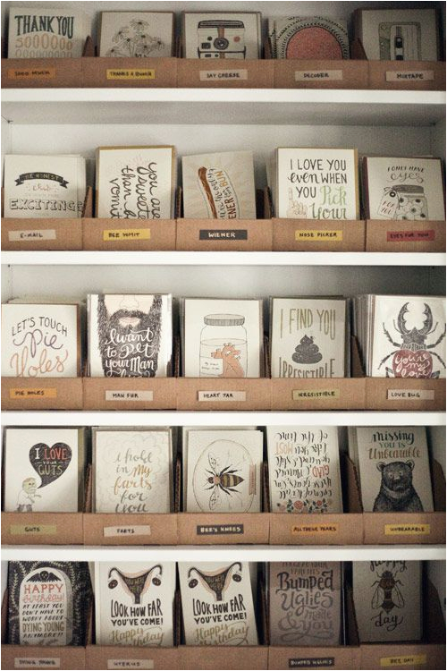 25 best ideas about greeting cards display on pinterest