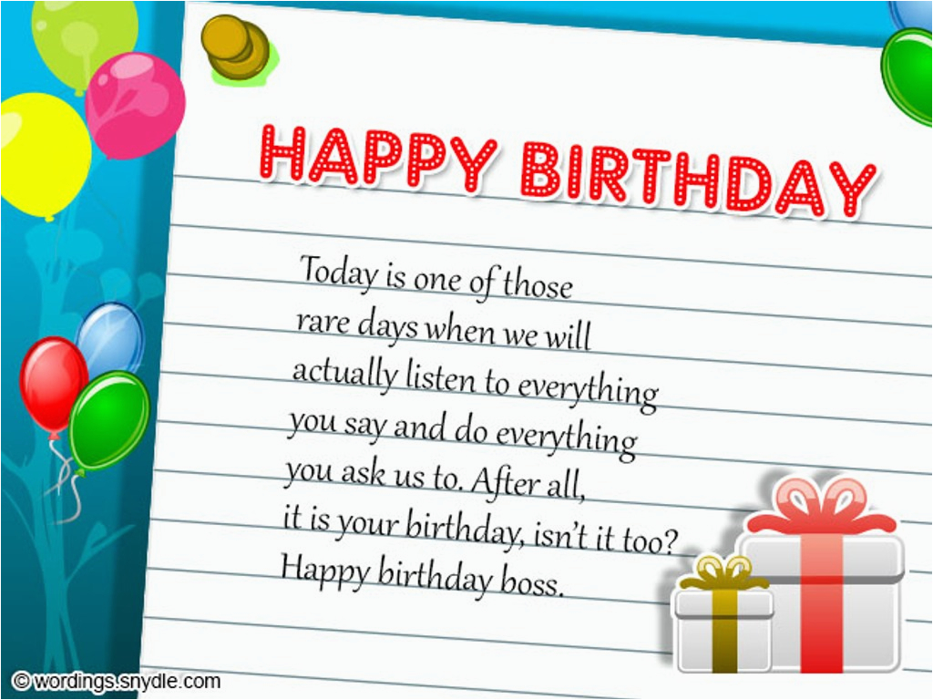 birthday wishes for boss wishes greetings pictures