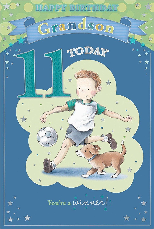 Birthday Card For 11 Year Old Boy 81cbk6slu9l Sy450
