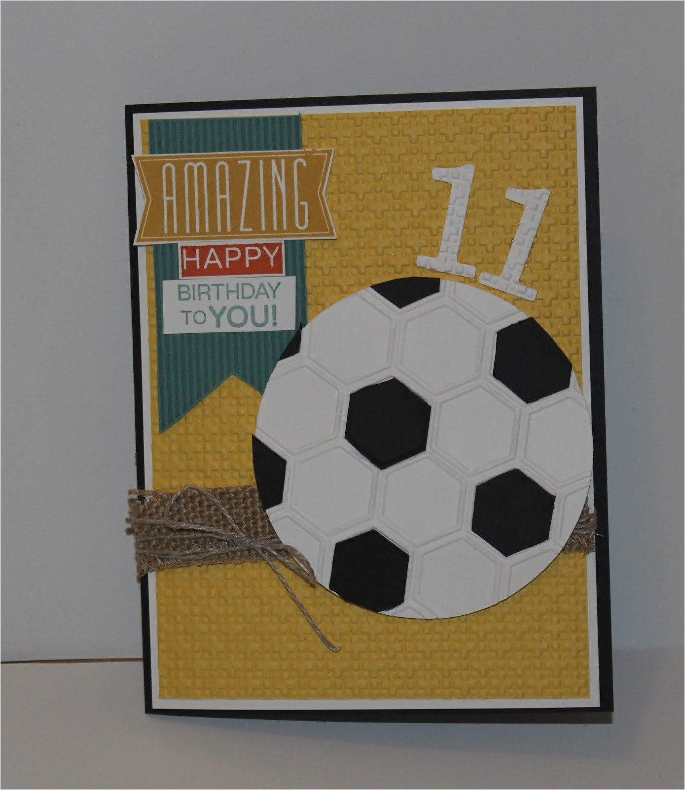 Birthday Card For 11 Year Old Boy From Me 2 U A Stamper 39 S Journey
