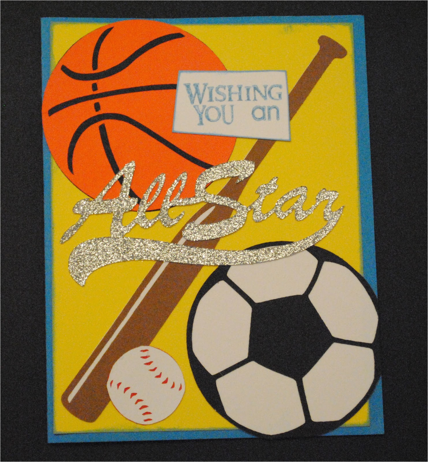 Birthday Card For 11 Year Old Boy K E Kreations Sports Theme