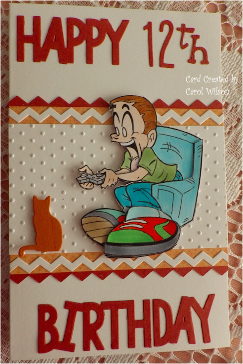 Birthday Card for 12 Year Old Boy 12 Year Old Boy 39 S Birthday Card Cards Kids Pinterest