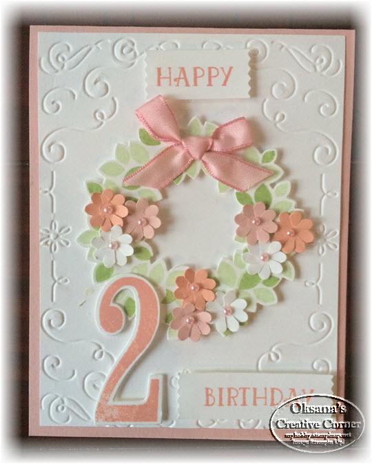 oksana 39 s creative corner birthday card for baby girl