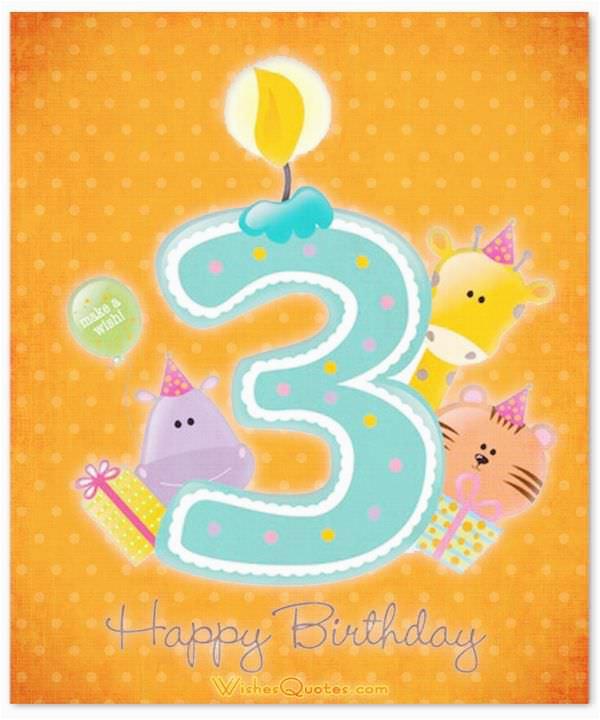 Birthday Card For 3 Year Old Boy Birthdaybuzz