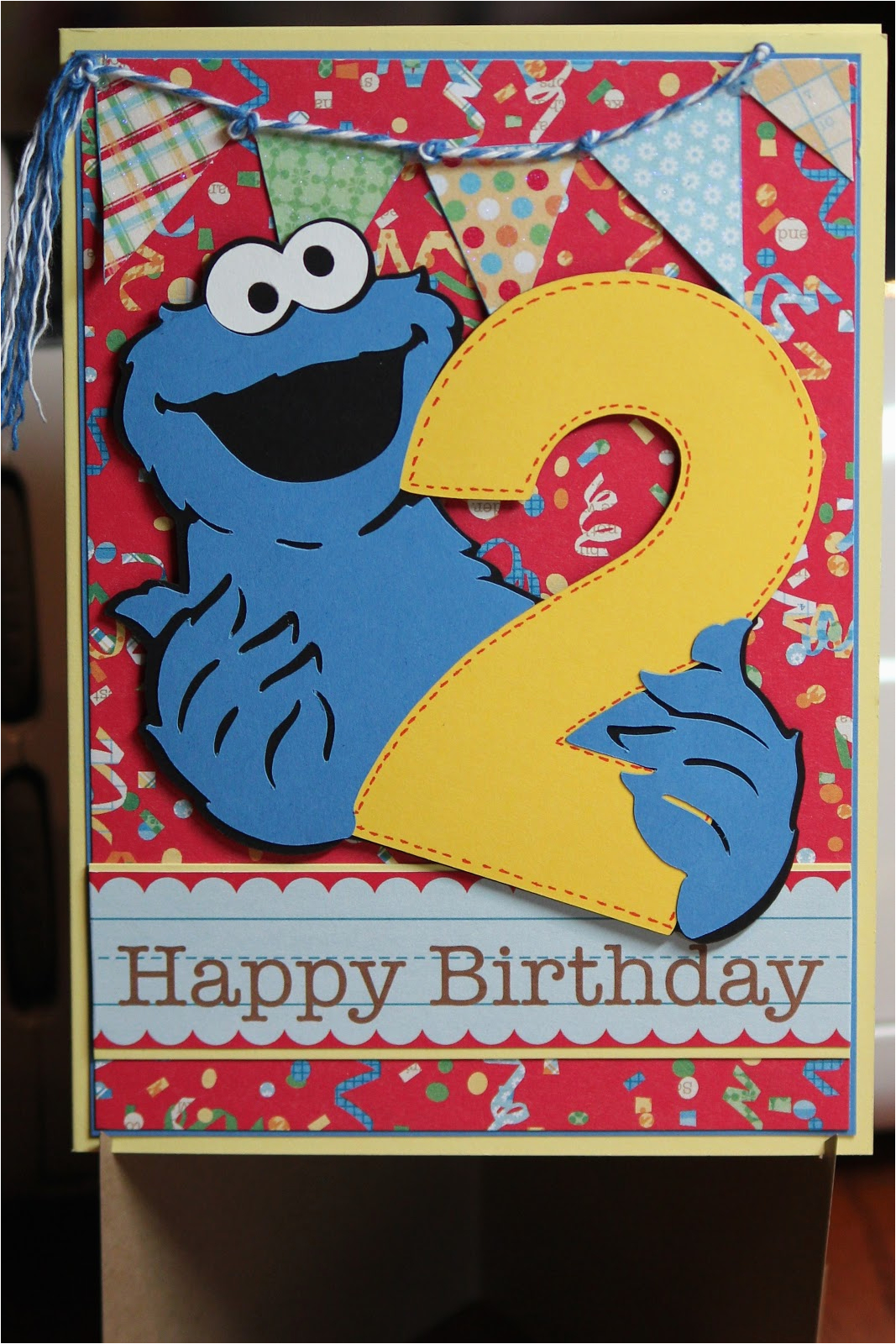 Birthday Card For 3 Year Old Grandson Chocolate And Crafts Xander