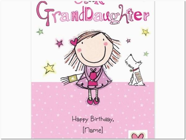 60 happy birthday granddaughter