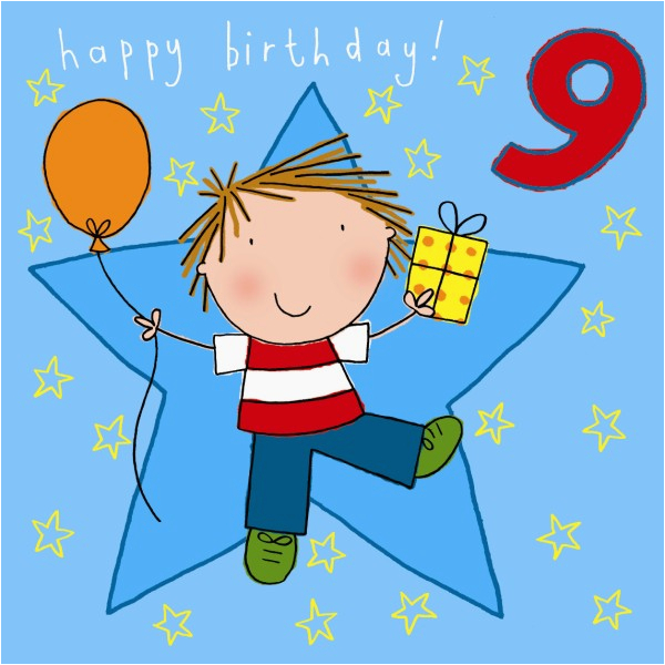 Birthday Card For 9 Year Old Boy Kids Cards
