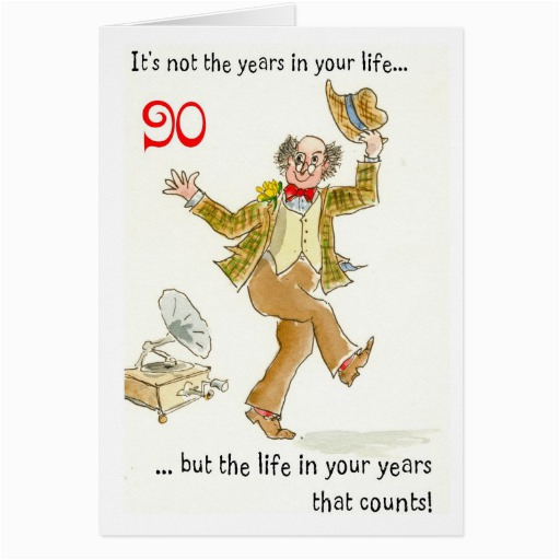 Birthday Card For 90 Year Old Man 90th Quotes Quotesgram