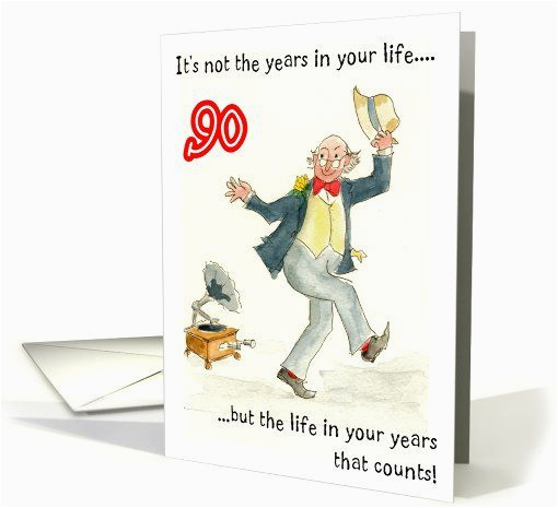 Birthday Card For 90 Year Old Man Cards Birthdays And On Pinterest
