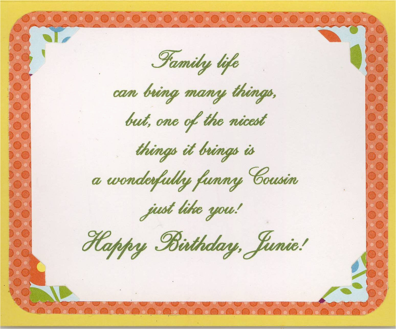 Birthday Card For A Cousin Sister Happy Birthday Wishes Pictures