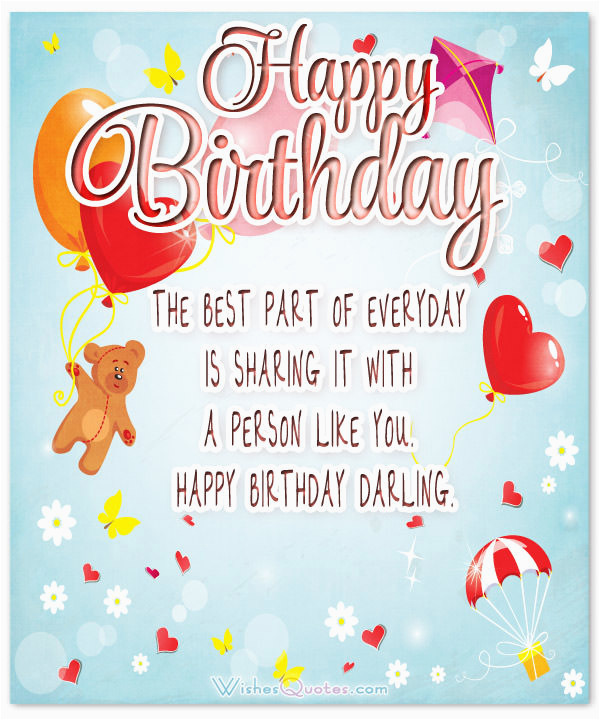 Birthday Card For A Girl You Like Heartfelt Wishes Your Girlfriend