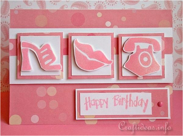 birthday card for teen girls pink dreams