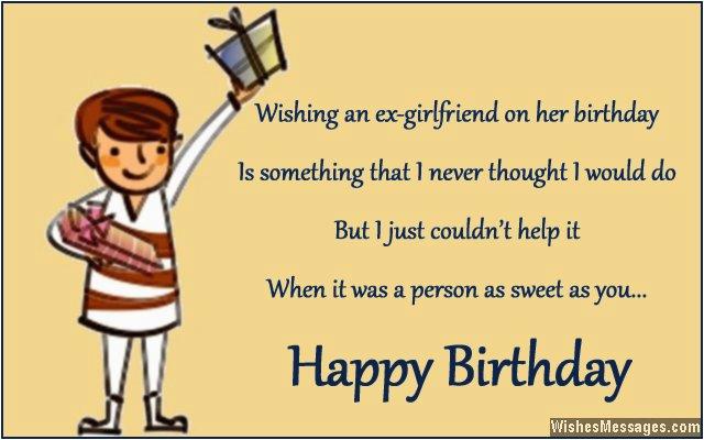 Birthday Wishes For Ex Girlfriend