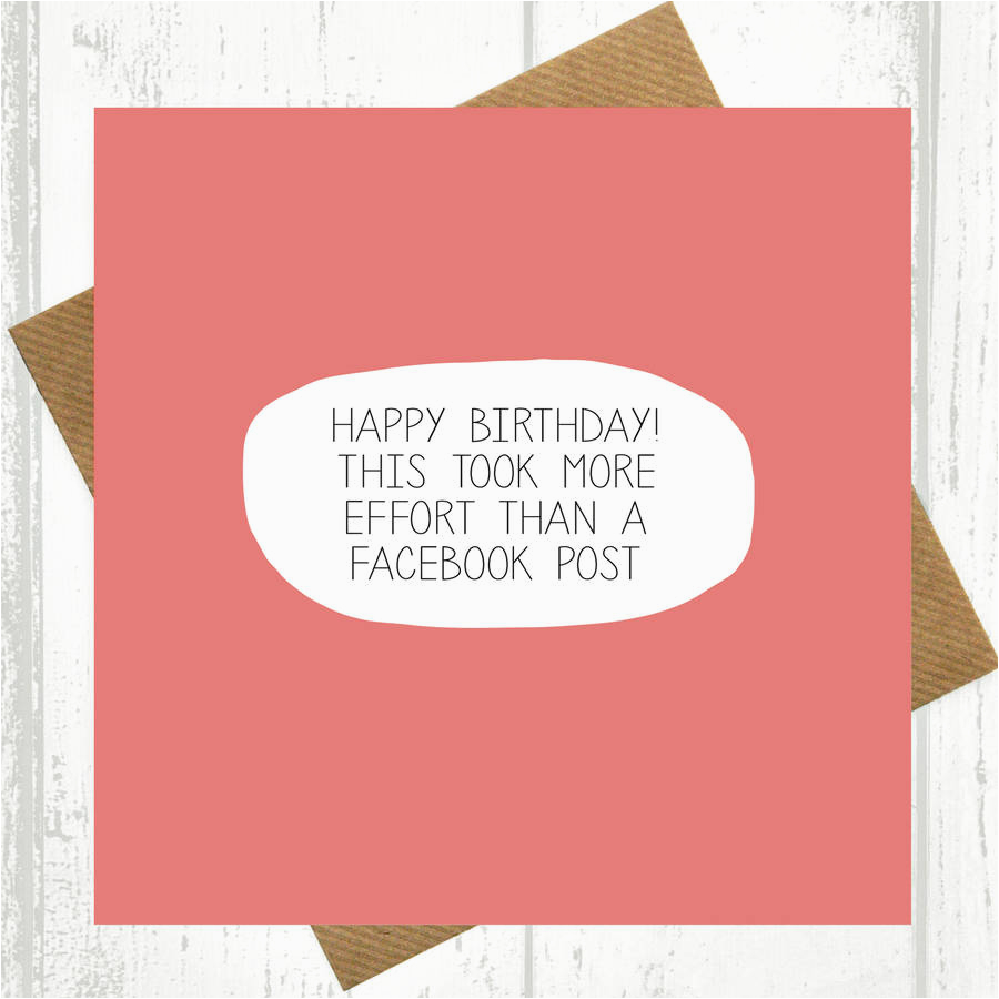 Birthday Card For Facebook Post How To Cards On