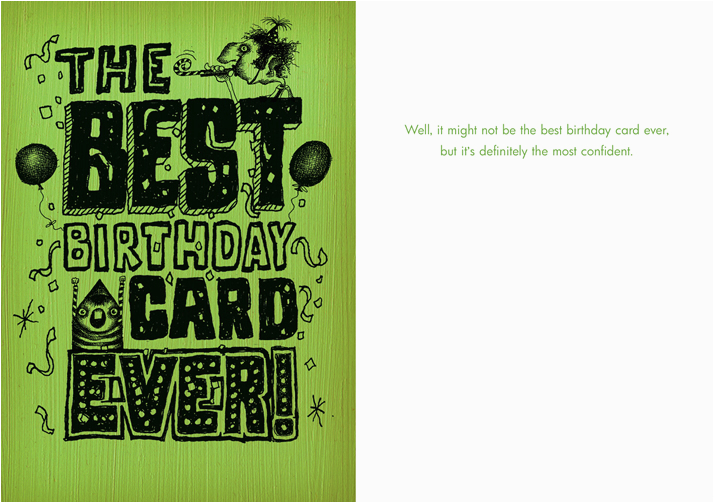 048 the best birthday card ever most confident bald
