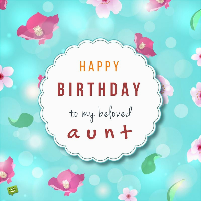 Birthday Wishes For Aunt