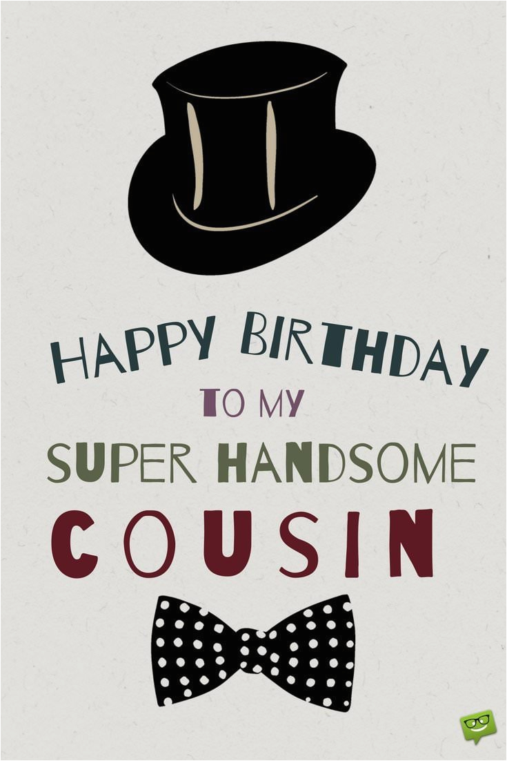 Birthday Card For My Cousin Happy Grateful To Be Family