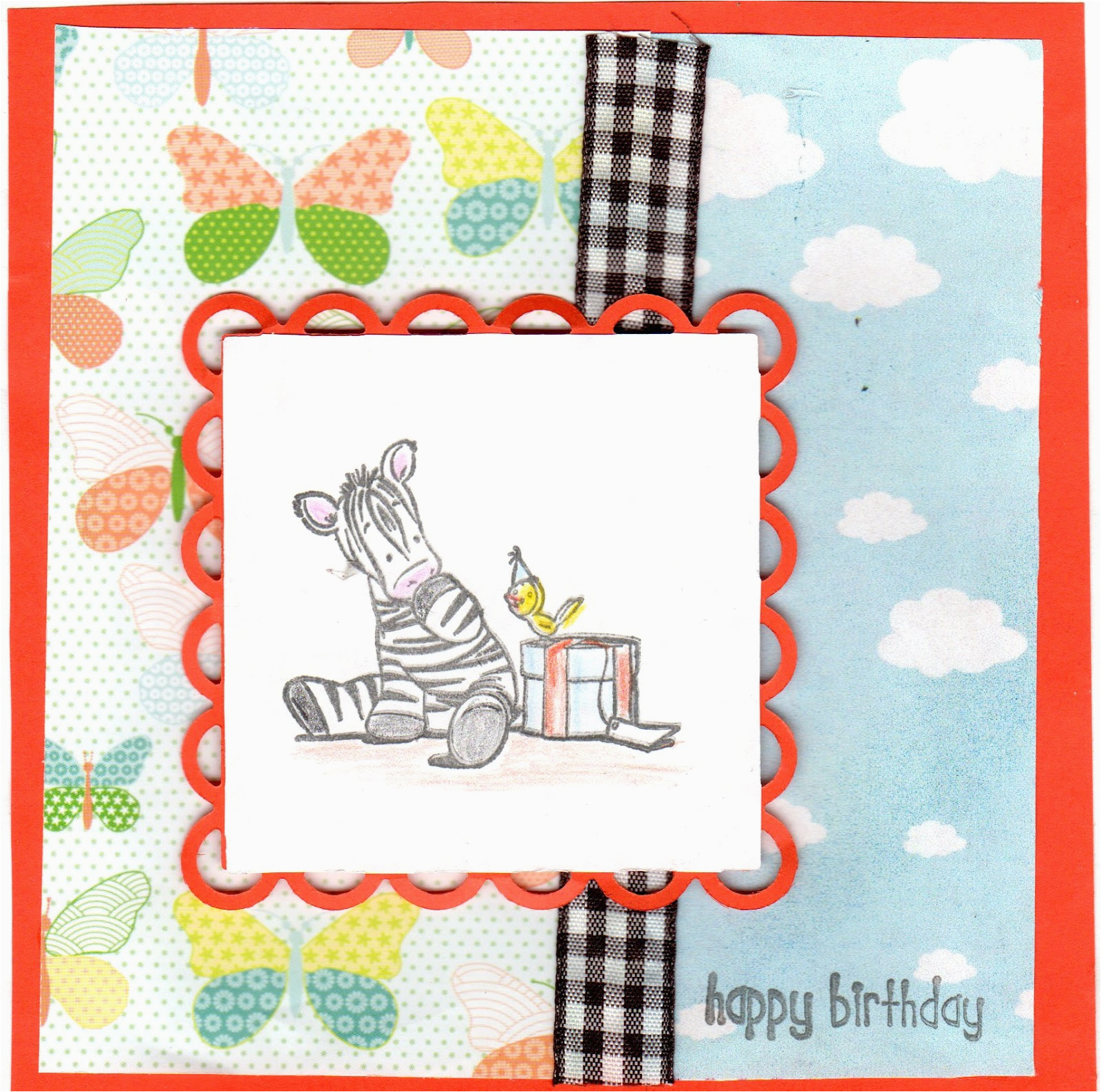 birthday card for 1 year old