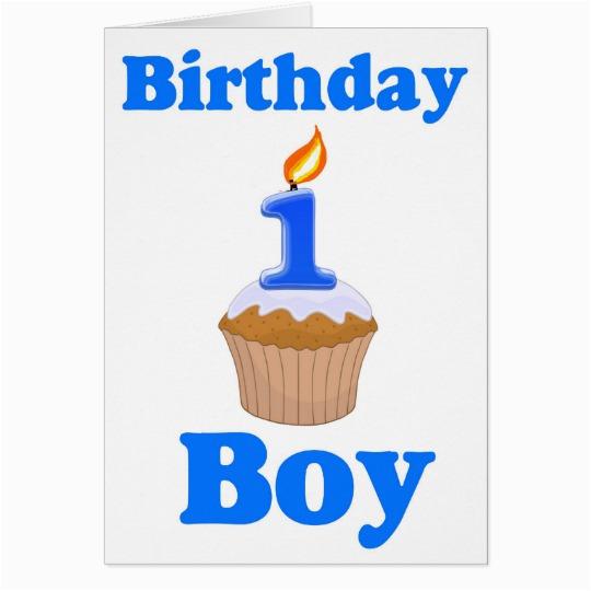 Birthday Card For One Year Old Boy 1 Zazzle Ca