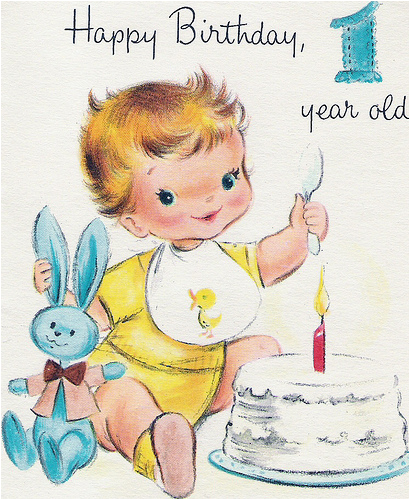 Birthday Card For One Year Old Boy Happy First Page 10