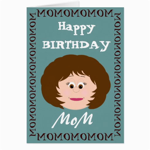 Birthday Card For Son From Mother Happy Mom Greeting Zazzle