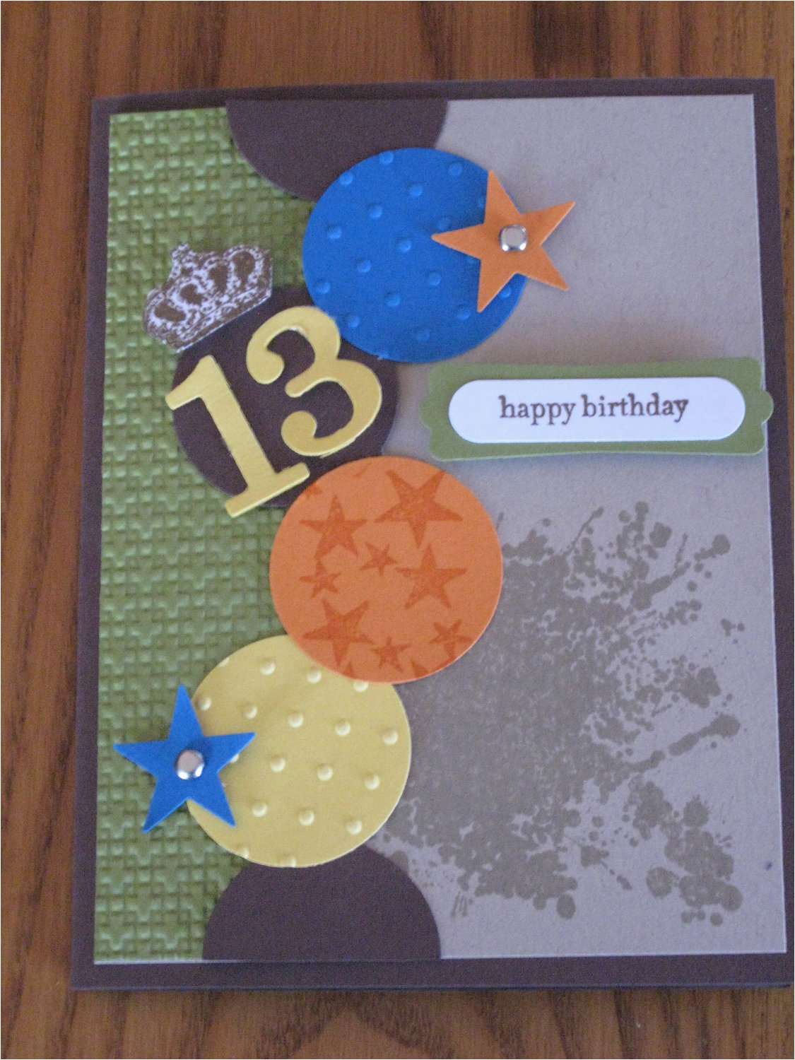 Birthday Card For Teenager Boy Teen Son Grandson Nephew Cousin Friend Handmade