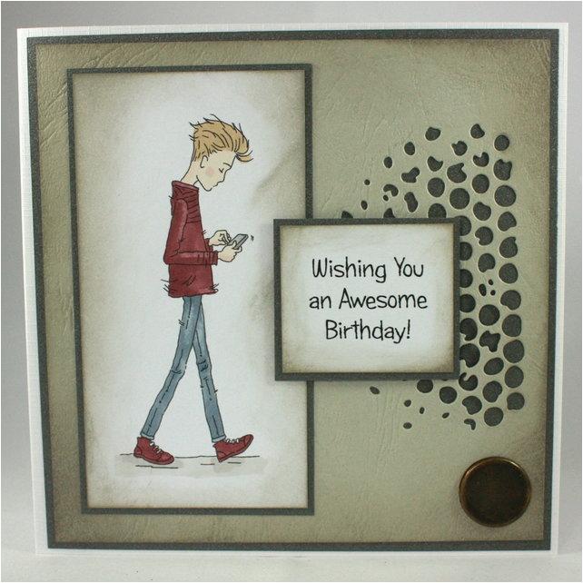 Birthday Card For Teenager Boy Handmade Teenage Wishin Folksy