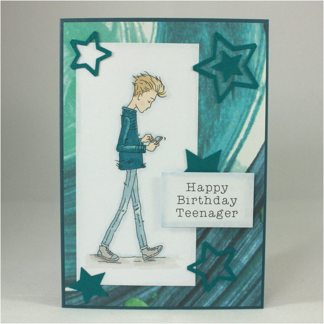 6914489 handmade birthday card teenage boy