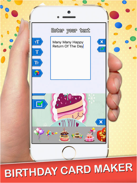 Birthday Card Generator Online App Shopper Happy Maker Photography