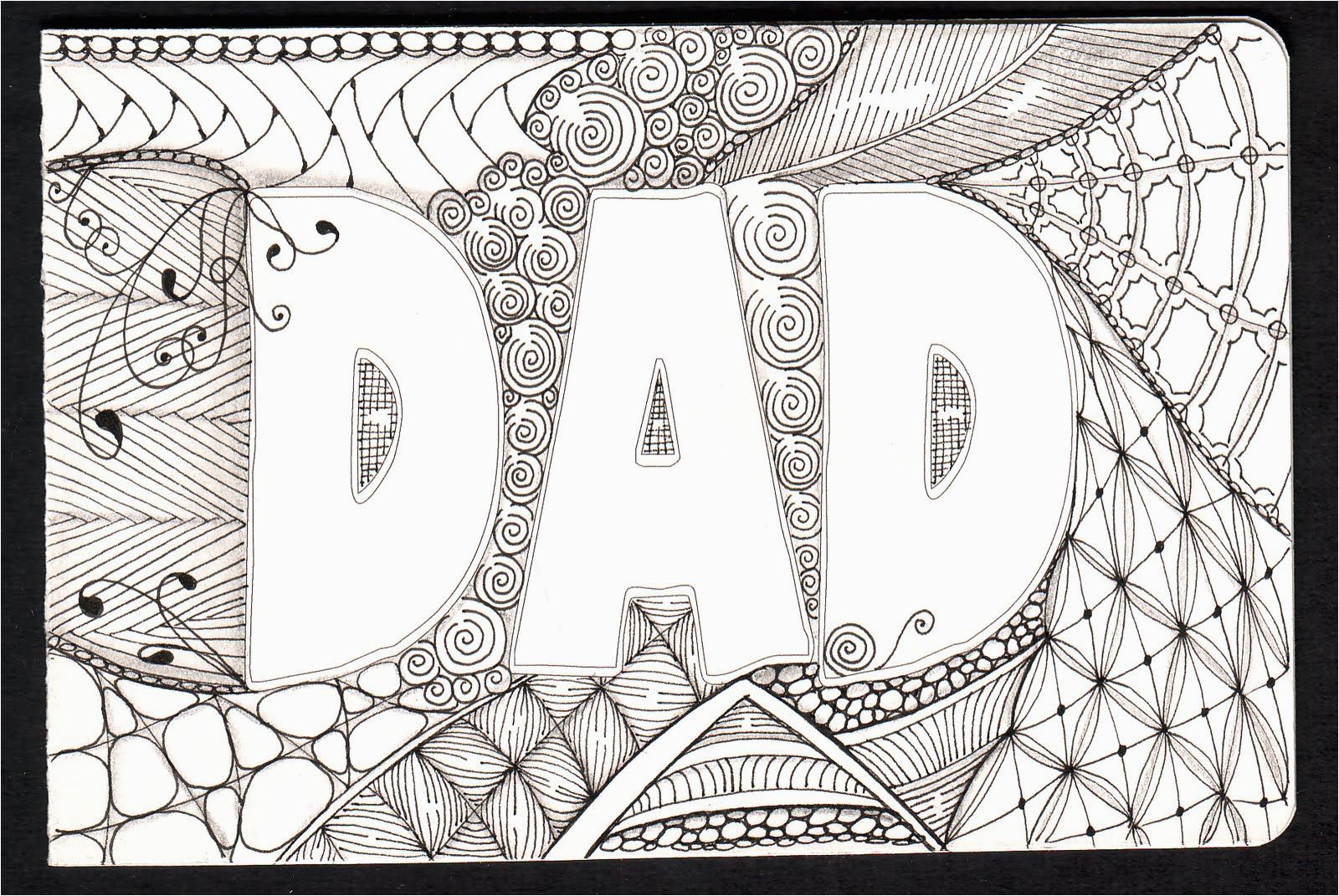 Birthday Card Ideas For Dad From Daughter